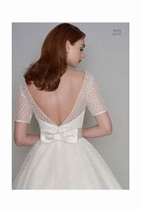 lb nellie s tea length polka dot short vintage wedding With polka dot wedding dress