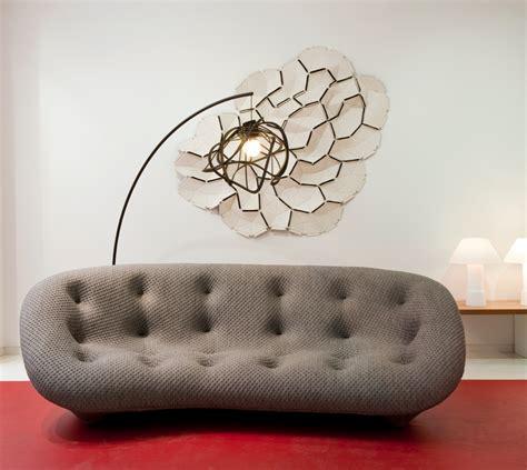 canapes ligne roset canapé ploum gris des bouroullec chez ligne roset design