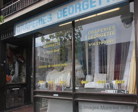 Draperie Georgette  7194, Rue Sainthubert