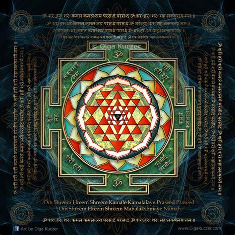 Yantra Mantra olga kuczer maha lakshmi mantra shri yantra