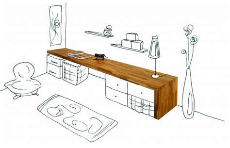 table de travail bureau bureau flip design boisflip design bois