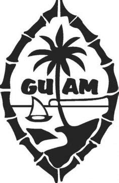 Guam Seal, two flowers represent Mom & Daughter and the three Turtles represent Dad & 2 sons
