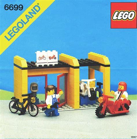 Lego Instructions For Cycle Fixit Shop #66991 Swooshable