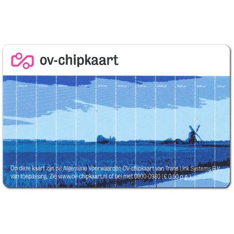 Account ov chipkaart
