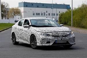 2017 Honda Civic Spyshots Reveal Interior Design ...  2017