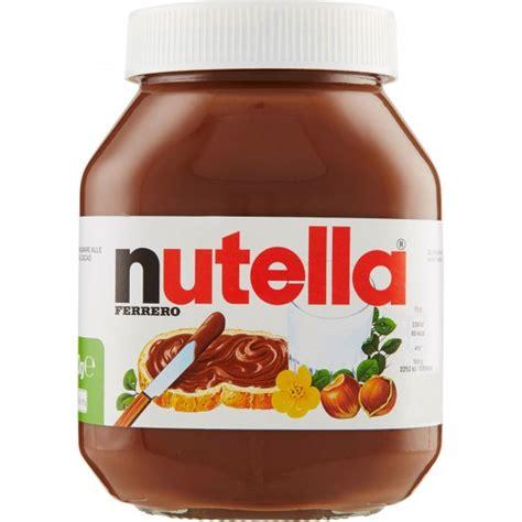 Vaso Nutella Ferrero Nutella Crema Spalmabile In Vaso Gr 800 Visita