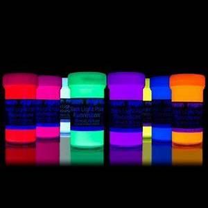 8 x 1 76 fl oz Black Light Paints Neon UV Fluorescent