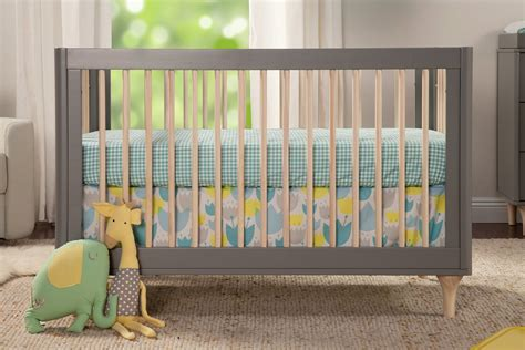 babyletto lolly crib babyletto lolly 3 in 1 convertible crib grey and