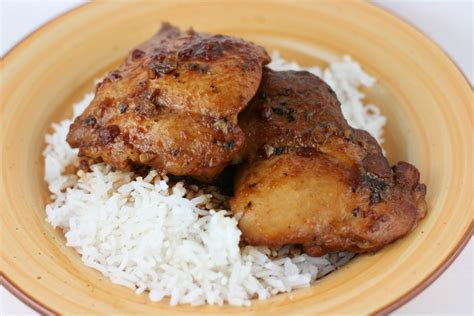 cooked chicken recipes honey garlic chicken slow cooker recipe a year of slow cooking