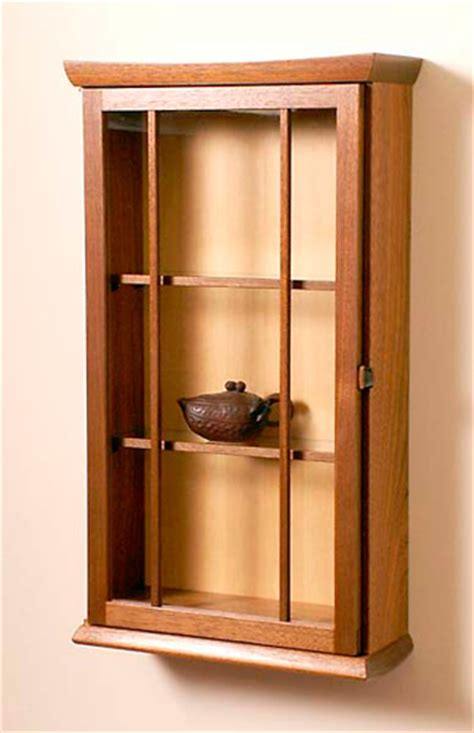 glass fronted wall cabinet david finck woodworker glass front round bottom wall