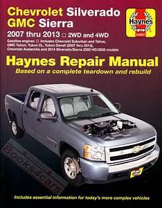 Silverado Sierra Tahoe Yukon Shop Manual Pickup Service