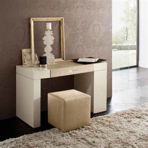 modern makeup vanity rossetto dressing table