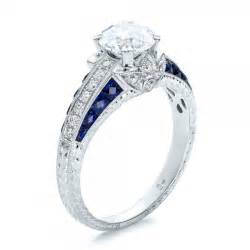 chagne sapphire engagement rings and blue sapphire engagement ring 100390 bellevue seattle joseph jewelry