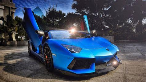 Blue Lamborghini Hd Wallpapers by Blue Lambo Wallpapers Top Free Blue Lambo Backgrounds