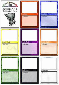 deviantart trading card game by weichimaster on deviantart With card game design template