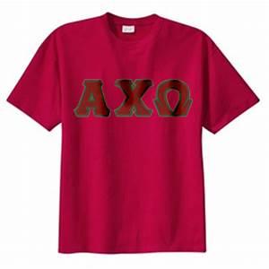 alpha chi omega sewn on greek letter t shirt alpha chi With alpha chi omega stitched letter shirts