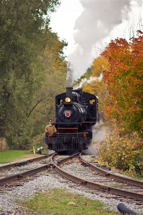 Enjoy A Scenic Fall Train Ride In New York On Arcade and ...
