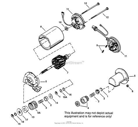 Bendix Starter Part Diagram by Tecumseh Es12 2 35707 Parts Diagram For Electric Starter