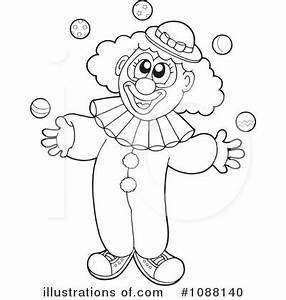 Clown Black And White Clipart - Clipart Suggest