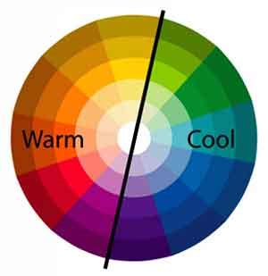 cool colors vs warm colors mixing paint into warm autumn colors painting lesson for