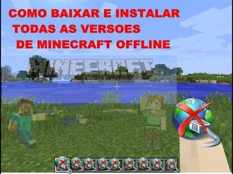 baixar de instalar offline minecraft 1.9