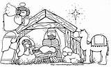 Manger Coloring Away Pages Printable Getcolorings Attractive Print sketch template