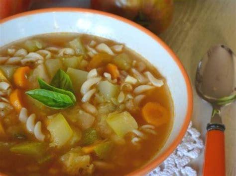 la cuisine rapide luxembourg recettes végétariennes de soupe minestrone
