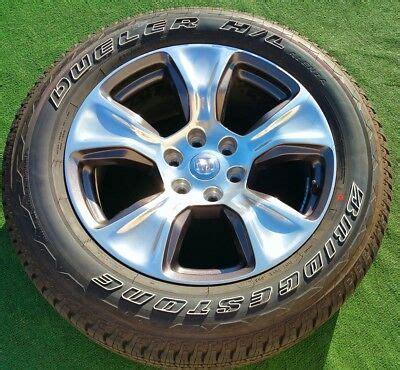 ram   wheels tires   set oem factory pickup