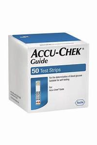 Accu Chek Guide 50 Strips Pack Buy Online