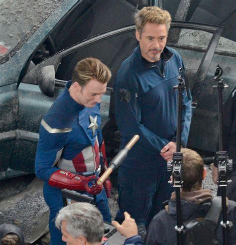 avengers  set captain america iron man  ant man