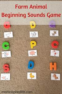 farm animals beginning sounds game farm theme gross With learning letter sounds games