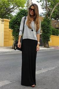 20 Style Tips On How To Wear Maxi Skirts In The Winter - Gurl.com | Gurl.com