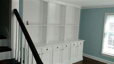 built  bookcase hack  kitchen cabinets