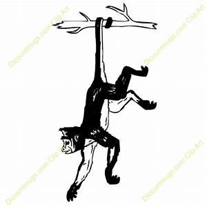 monkey, hanging, hang | Clipart Panda - Free Clipart Images