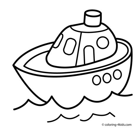 Kleurplaat Go Water by Water Transport Coloring Pages And Print For Free