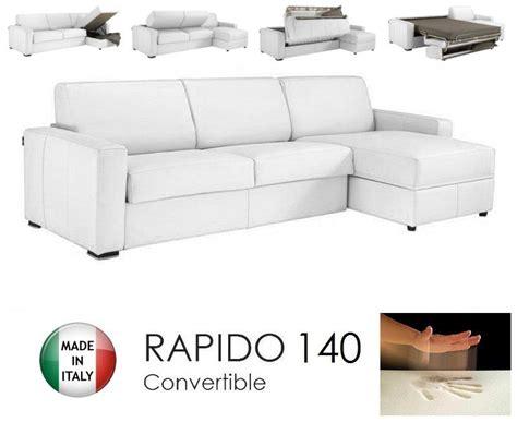 canapé d angle rapido canape d 39 angle dreamer rapido 140cm cuir eco vachette