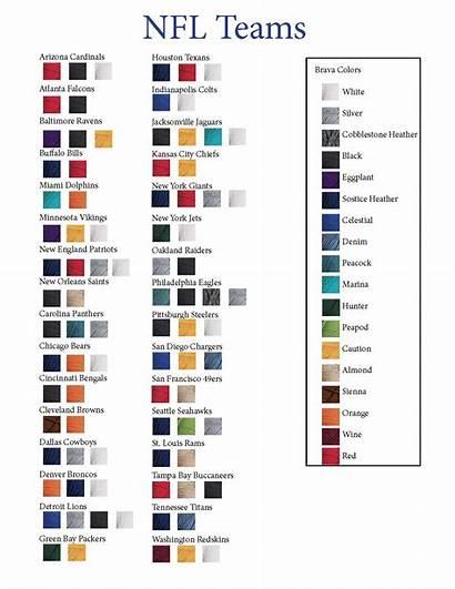 Nfl Colors Football Team Teams Yarn Knitting