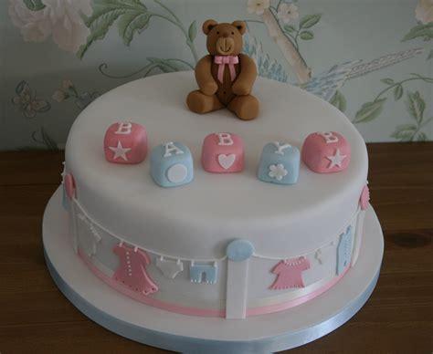 Lauralovescakes Baby Shower Cake