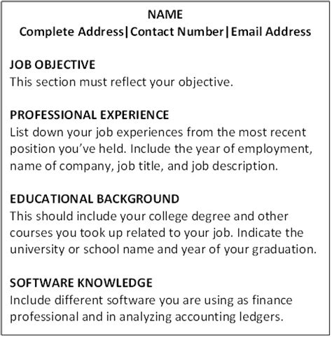 objective section of resume finance persepolisthesis web