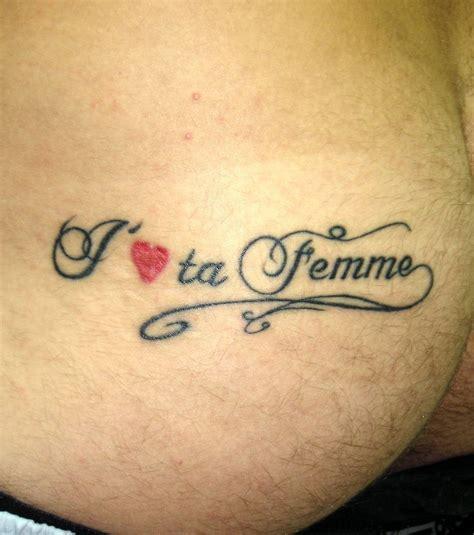 Photo  Tatouage Sur La Fesse D'un Homme