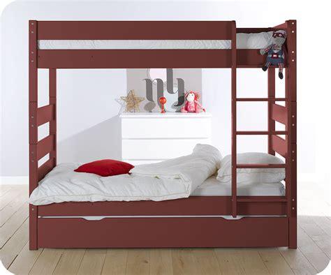 lit superpose hauteur pack lit superpos 233 90x190 cm avec 2 matelas