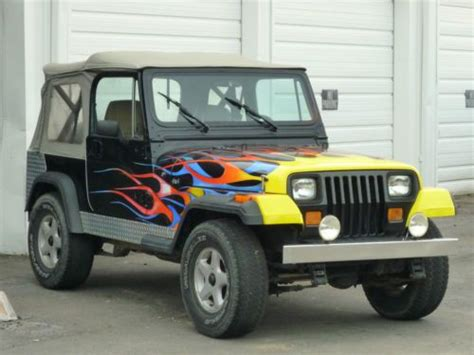 jeep wrangler beach cruiser sell used awesome beach cruiser 1989 wrangler custom