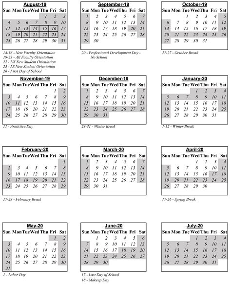 international school belgrade calendar calendar summary