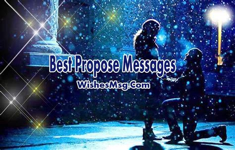 romantic proposal messages  proposal ideas wishesmsg