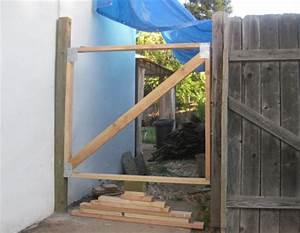 Easy, Illustrated Instructions on How to Fix a Gate