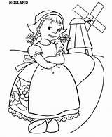 Coloring Princess Printable Dutch Colouring Children Around Coloriage Enfants Holland Clipart Clip Monde Kleurplaten Adult Enfant Embroidery Nous Colorear Kid sketch template