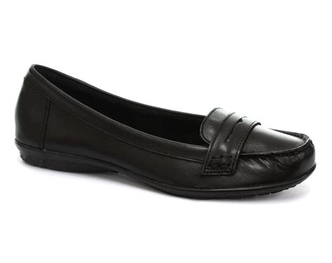 hush puppies black ceil penny womens loafer shoes all