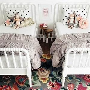 Kleinkind Zimmer Mädchen : geteiltes kinderzimmer f r zwei m dchen mit zwei einzelbetten geteiltes kinderzimmer shared ~ Sanjose-hotels-ca.com Haus und Dekorationen