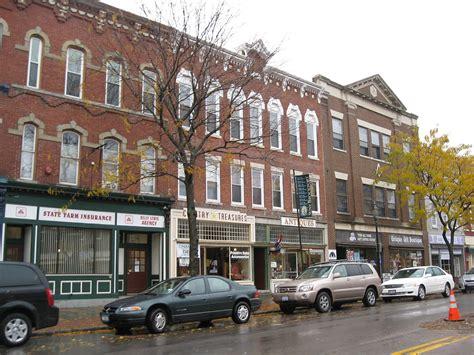 Main Street Historic District (brockport, New York