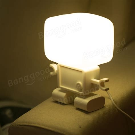 small night light table ls intelligent light operated robot led small night light